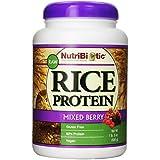 Nutribiotic - Rglace Végétalien Protéine Poudre Mixed Baies - 680 Gr