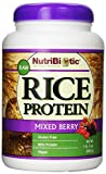 Nutribiotic Rice Protein, Mixed Berry, 2...