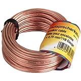 Hama Câble pour enceintes 2 x 0,75 mm² 30 m