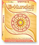 E-Kundali 10 (Language Hindi-English) Astrology Software