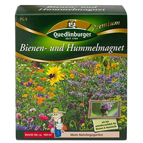 Quedlinburger Hummelmagnet Saatgut für 100 qm Bienenwiese, einjährige Bienen Blumenmischung