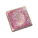 SMILEQ 12 Farbe Flash Sand Lidschatten Disc Gesichts Make-up Für Lidschatten Cosmetology (Rosa)