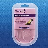 TheraStep Gel Streifen & Punkte | Einheitsgröße | Enthält 2 Streifen & 4 Punkte preisvergleich bei billige-tabletten.eu