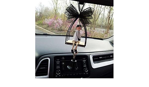 WE-WHLL Decorazione per Auto Ciondolo Appeso Interno per Auto Specchietto retrovisore Ornamento Eid Islam