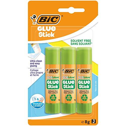BIC Ecolutions Klebestift, 8g 3 Stück