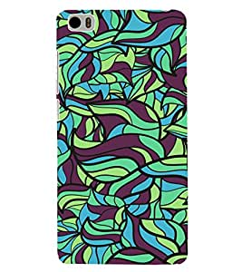 ColourCrust Xiaomi Mi5 Mobile Phone Back Cover With Modern Art Pattern Style - Durable Matte Finish Hard Plastic Slim Case