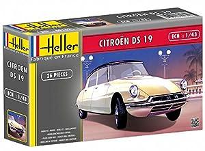 Glow2B Heller - 80162 - Maqueta para Construir - Citroen DS 19 - 1/43