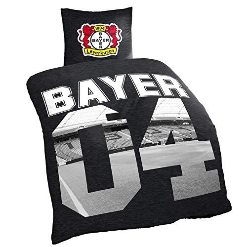 Bayer 04 Leverkusen Bettwäsche Renforce - 100% Baumwolle 135 cm X 200 cm