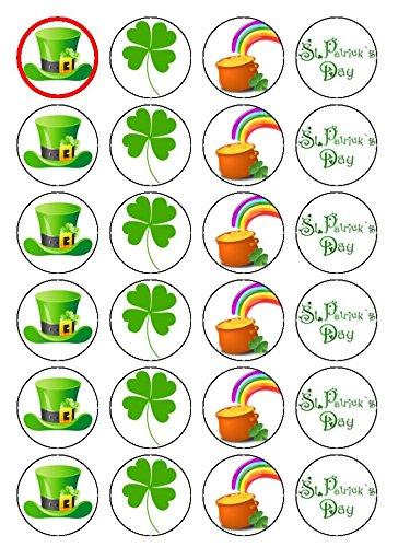 24St. Patrick 's Day Irish Irland Essbare Oblaten