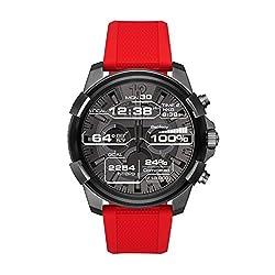 Smartwatch Full Guard DZT2006 Wegweisend in Technologie und Design: Die Smartwatch Full Guard DZT2006 von DIESEL ON ist eine Uhr für Männer, die immer am Puls der Zeit sind. Und sich nicht mit Kompromissen zufrieden geben. Ausgestattet mit hochauflös...