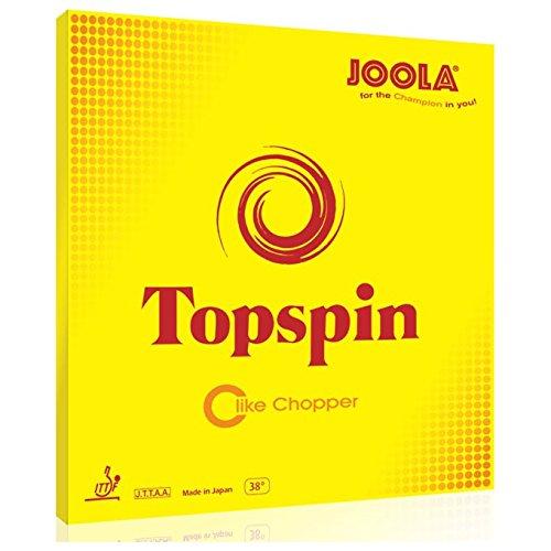 Joola RUBBER TOPSPIN\'C\'RED 1,2 MM - -0, Größe:1.2