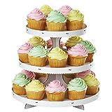 Wilton Kuchenständer/ Tortenständer, für Cupcakes, Weiß