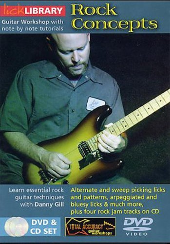 ROCK CONCEPTS SET REINO UNIDO DVD