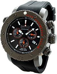 Barbos Black Diver Cronógrafo Reloj de Buceo 1000 metros Diver Watch