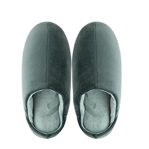 Pantoufles pour Hommes Chaussons de Confort