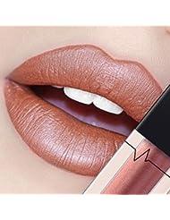 DOLDOA Mat Lip Gloss Rouge à lèvres Liquid Foundation Lèvre Maquillage cosmétique (#1)