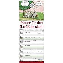 Planer für den (Un-)Ruhestand 2016: Familientimer mit Ferienterminen und Vorschau bis März 2017