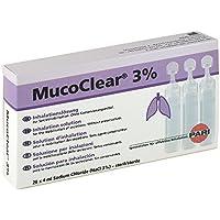 Preisvergleich für Mucoclear 3% Inhalationslösung Ampullen, 20 St.