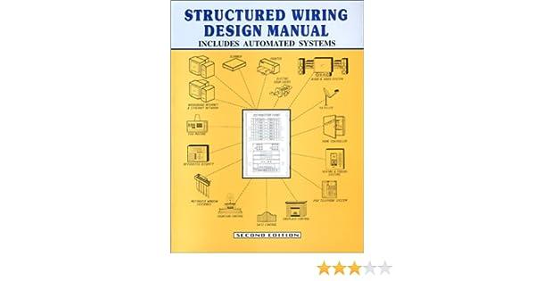 structured wiring design manual amazon co uk robert n bucceri rh amazon co uk Structured Wiring Distribution Panels Structured Wiring Diagrams
