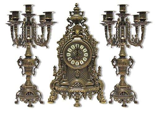 triptico-reloj-barroco-de-laton-brunido-con-candelabri-frances-de-consola