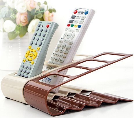 R Dabhi Metal Remote Control_ Mobile Holder Stand Organizer Rack (1 Pc) ….  available at amazon for Rs.260