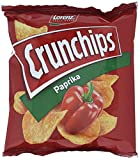 Lorenz Snack World Crunchips Paprika, 20er Pack (20 x 25 g)