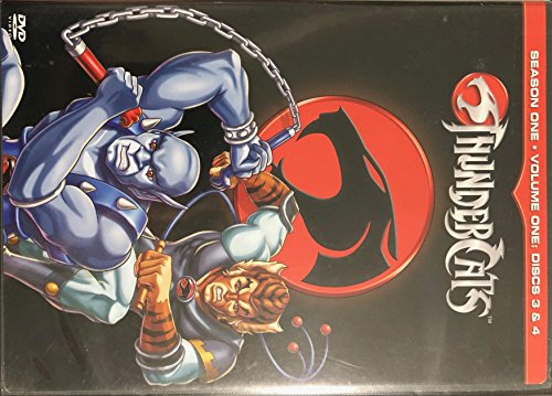 Thundercats Season One Volume One, Disks 3 & 4 (2 Disk Set)