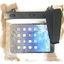 """PRESKIN - Funda impermeable para tablet pantalla max. 8.0"""" (Beachbag8.0""""Clear) universal protección contra el polvo, el agua, el suelo, a prueba de agua la caja / del tablet de protección con función de pantalla táctil como el protector de la pantalla , a prueba de agua / resistente tab bolsa / caja de agua para Samsung Galaxy, Motorola, Sony, Nokia, Huawei , HTC BQ Aquaris, Motorola Moto, Xiaomi, Google Nexus, Honor, Jiayu, iPad, BQ, Lenovo, Samsung Galaxy Tab 3, Apple iPad mini, eReader, Google Nexus, JETech, NVIDIA, Asus Memo Pad"""