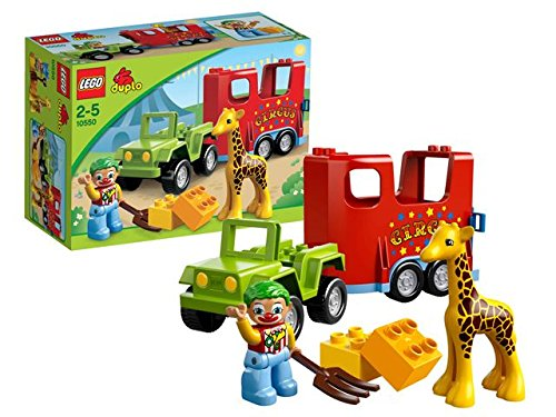 LEGO Duplo LEGO Ville Circus Transport- 10550  available at amazon for Rs.1799