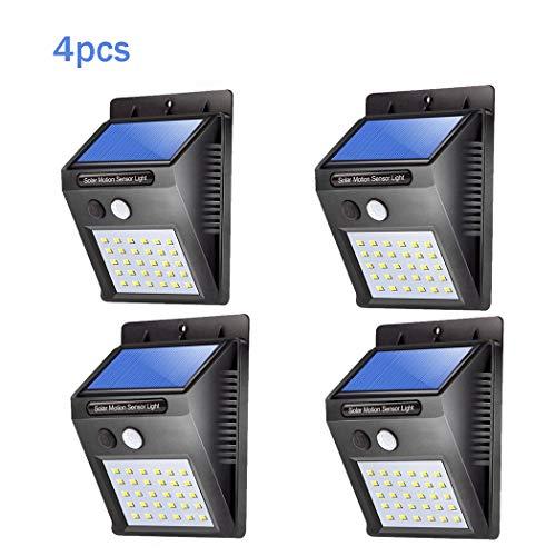 caracteristicas:El sensor de movimiento enciende / apaga la luz automáticamenteLuz LED de bajo consumo y bajo consumo.Batería de litio incorporada, recargable mediante energía solar.Hasta 8 horas de tiempo de trabajo con una sola carga.Sensible a la ...