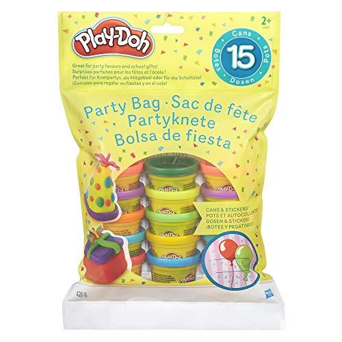 Hasbro Play-Doh 18367EU4 - Partyknete mit Stickern,