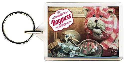 Bagpuss Keyring Gift 50mm x 35mm