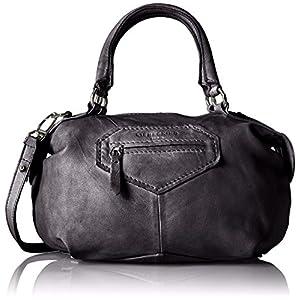 Schwarze Leder-Handtasche von Liebeskind online kaufen