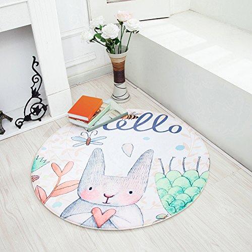 Pueri Alfombras de Juegos Estera para Jugute Almohadilla Infantiles Accesorios Decorativos para Casa (A)