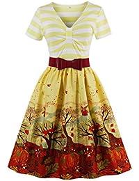 Dissa M1369 DamenRockabilly 50er Vintage Retro Kleid Partykleider Cocktailkleider