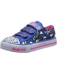 Skechers Shuffles Glitter n Glitz - Zapatillas de Deporte de canvas niña