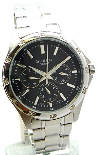 Casio Sheen SHE-3801D-1AEF - Orologio da Polso Donna
