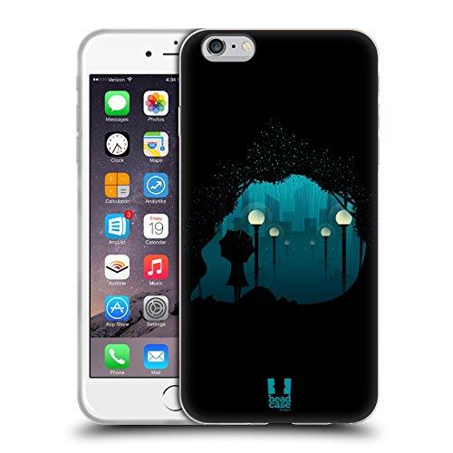 Head Case Designs Spiaggia Skullscape Cover Morbida In Gel Per Apple iPhone 7 Plus / 8 Plus Citta