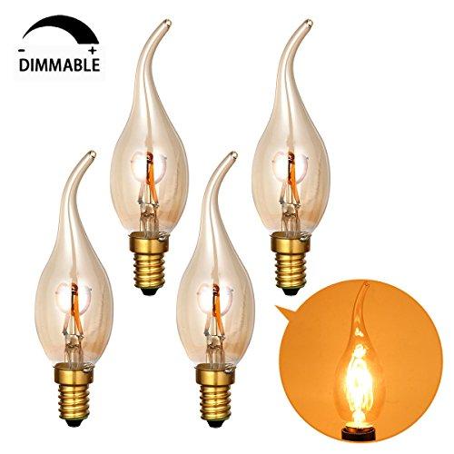 GreenSun LED E27 Edison Lampe Stern Vintage Glühbirne Lichterkette Filament Deko Lampe...