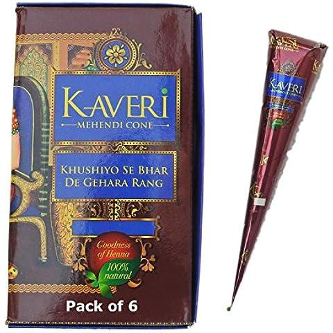 KAVERI - Confezione da 6 tubetti per