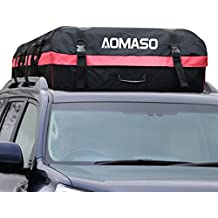 Portaequipaje Impermeable para Techo de Automóvil Aomaso, Caja de Almacenamiento (10 Pies Cúbicos) para Viaje y Transporte de Equipaje