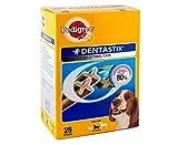 #4: Pedigree Dentastix, Oral Care Dog Treat for Adult Medium Breed (10-25kg) Dogs – 720g Monthly Pack (28 Sticks)