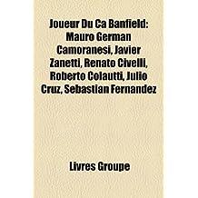 Joueur Du CA Banfield: Mauro German Camoranesi, Javier Zanetti, Renato Civelli, Roberto Colautti, Julio Cruz, Sebastian Fernandez