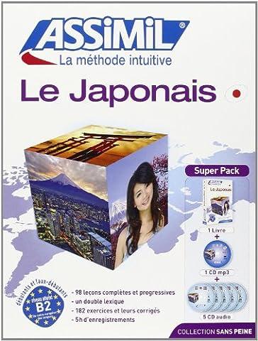 Le Japonais Superpack (livre 5CD audio+1CD