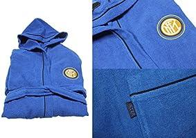 Inter 96340202120Albornoz, 100% algodón, Azul, 25x 20x 5cm, 6Unidad