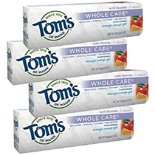 whole-care-gel-toothpaste-orange-mango-orange-mango-gel-47-oz-pack-of-4-by-toms-of-maine