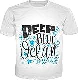 100ANB - (1 - 1) DEEP BLUE OCEAN - MEMES HUMOR QUOTES GIFT BIRTHDAY - GRAPHIC PRINTED DRIFIT DRYFIT MICRO POLYESTER ROUND NECK T-SHIRT TEE TSHIRT, SIZ