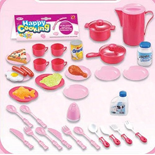 Kids Cooking Chef Kitchen Playset Toys | Cups
