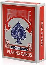 Newin Star Mini Poker, 2er Pack Mini Poker Spielkarten Box Zaubertricks Prop für Party Games Magic Show