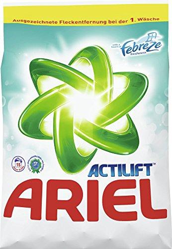 Ariel Actilift Regulär mit Febreze Waschmittel Pulver 3 x 15 WL (=3 x 0,975kg)